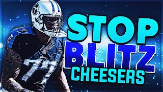How to Counter Cheese Blitzers! | Unstoppable Madden 19 Pro Tip