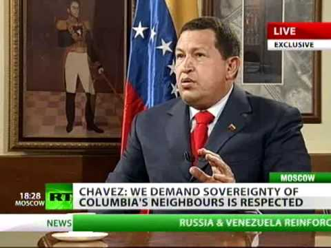 LIVE Exclusive: Hugo Chavez talks to RT