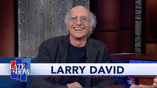 "Larry David Reminisces About Colbert's Guest Spot On ""Curb Your Enthusiasm"""