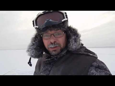 Зимняя рыбалка. Витёк в деле (11.11.2017г)