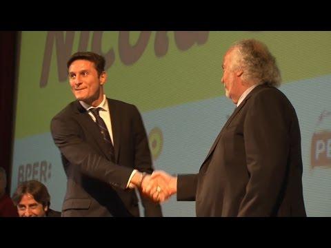 Catanzaro - Premio Ceravolo a Javier Zanetti