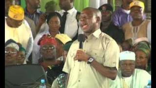 Governor Adams Oshiomole Address | ACN Convention 2010