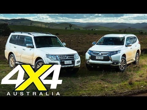 Mitsubishi Pajero vs Pajero Sport   Road test   4X4 Australia
