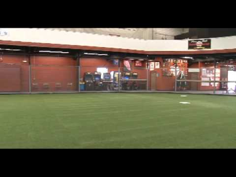 Spring training indoor baseball softball facility youtube for Design indoor baseball facility
