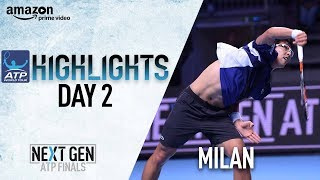 Highlights: Chung Qualifies For Semis On Day 2 In Milan 2017