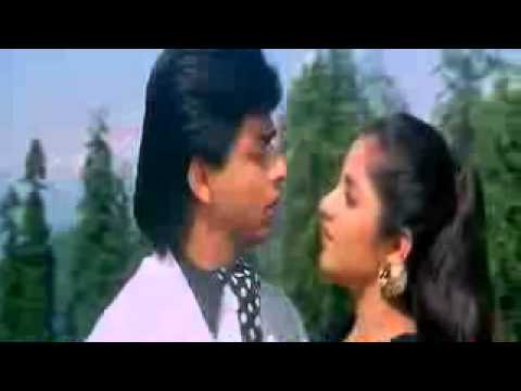 Aisi Deewangi  Deewana 1992 Ft Shahrukh Khan Divya Bharti Bollywood Hindi Song video