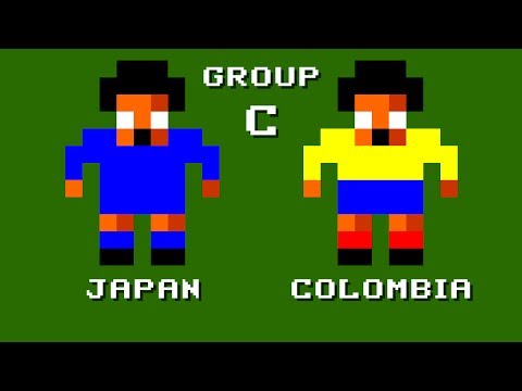 World Cup / Japan vs Colombia (Group C)