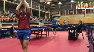 Table Tennis Spanish Youth Open 2018 - Vladimir Sidorenko Vs Nicolas Burgos -