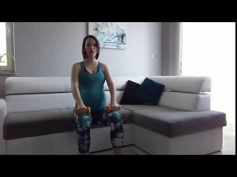 Ćwiczenia Dla Kobiet W Ciąży - Zestaw Na Ręce