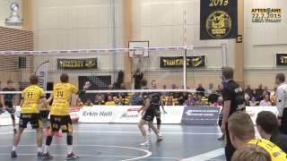 Aftergame Tiikerit - Leka Volley Su 22.2.2015 Tommi Tiilikainen