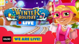 🔴 Subway Surfers Live in Winter Holiday