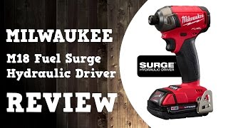 Milwaukee M18 Fuel Surge Hydraulic Driver 2760-20 Review in 4K