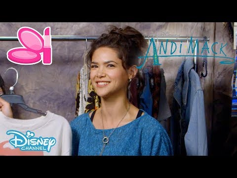 Andi Mack | Get The Look - Andi & Bex 👕 #4 | Official Disney Channel UK thumbnail