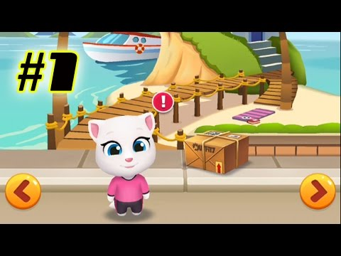 Talking Tom Gold Run Android Gameplay - Talking Angela Ep 1