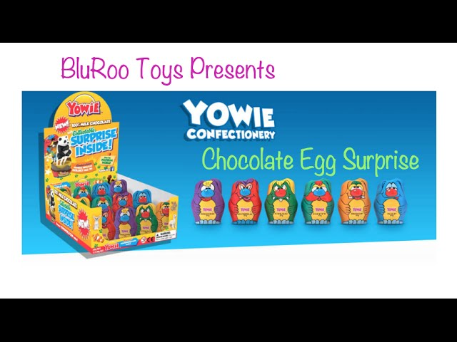 [Yowie World (Kinder Eggs US Alternative) Chocolate Eggs with...] Video