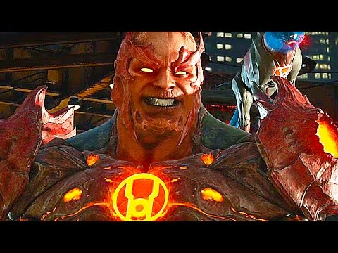 Injustice 2 Gameplay Atrocitus, Grodd, Supergirl & Aquaman ( E3 2016)