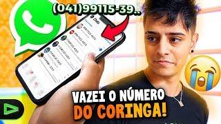 TRETA!! VAZEI O NÚMERO DO CORINGA E OLHA NO QUE DEU!!!