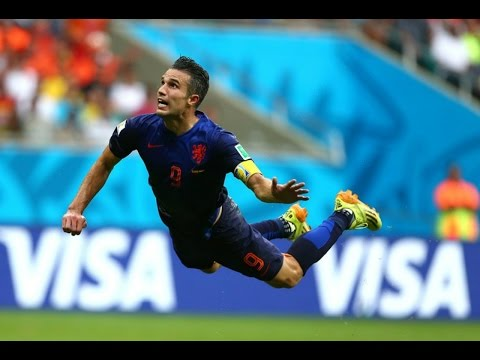 Robin van Persie goal vs Spain - World Cup 1080p HD ALL ANGLES