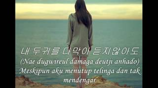 [SASSY GIRL CHUNHYANG OST] Indonesian Translation ,미안해야 하는거니 - 애즈 원 (AS ONE)
