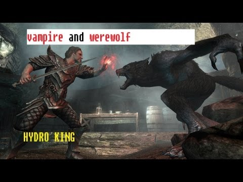 skyrim werewolf vs vampire lord comparison essay