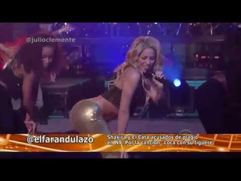 """Shakira y el Cata acusados de  plagio por la Canción """"Loca"""""""