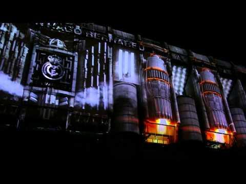 ADIDAS Presentación nueva equipación Real Madrid VideoMapping