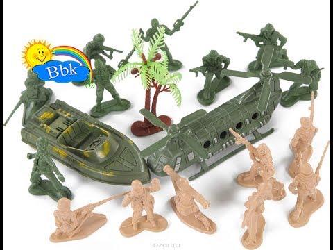 Домашние сражения игрушек ↑ Военные солдатики, танки, нёрфы, роботы ↑ Обзор игрушек