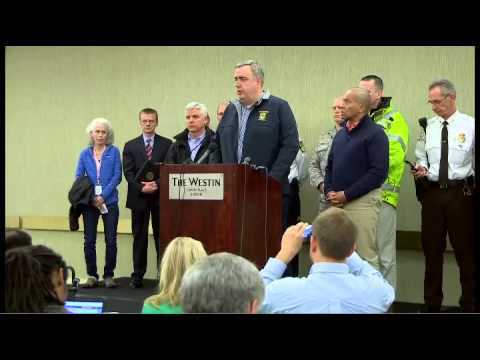 First Press Conference Boston Marathon Bomb Attack