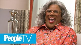 Why Tyler Perry Was 'Scared To Death' First Time He Played Madea | PeopleTV