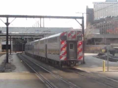 18th St is at the south end of Metra Electric's maintenance shops (the parked train is on a stub out of the shops), and south of where Illinois Central's Cen...