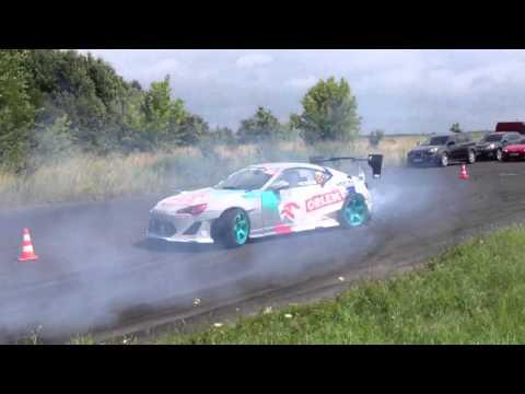 Toyota GT86 Kuba Przygoński Drift training