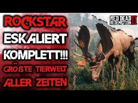 Rockstar eskaliert 200 einzigartige Tiere in der Open World - Red Dead Redemption 2 Deutsch