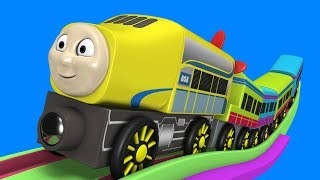 Thomas The Cartoon Train - Toy Factory Cartoon - Kids videos for kids