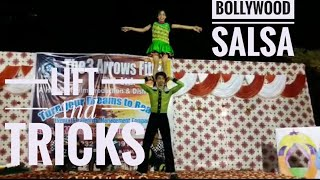 Bollywood Salsa With Lift and Tricks || Dance Performance BY  Ankit Ak and Deepanshi Singh