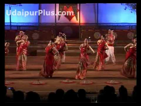 Bihu Folk Dances Of Assam video