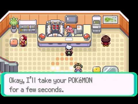 Pokemon Emerald Vba Gameplay (Master Ball Cheat)
