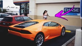 Download Song Homeless Man with a LAMBORGHINI Gold Digger🤑 Free StafaMp3