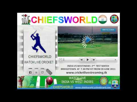 WATCH LIVE INDIA VS WESTINDIES TEST MATCH.mp4