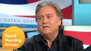 Susanna Reid Debates Steve Bannon over Trump's Brexit Criticism | Good Morning Britain