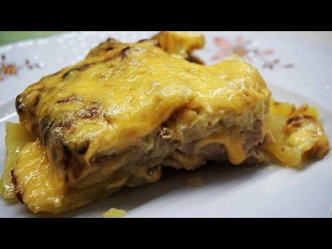 Готовлю мясо по французки с картошкой!!!