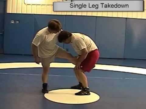 Wrestling Freestyle Basics in the standing position