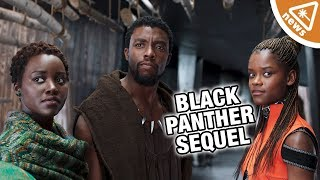 Does Black Panther Concept Art Spoil A Sequel? *SPOILERS* (Nerdist News w/ Jessica Chobot)
