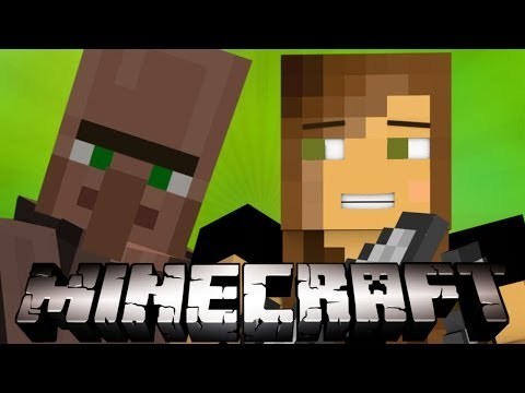 KILL EVERYTHING!!- Minecraft Villager Defense