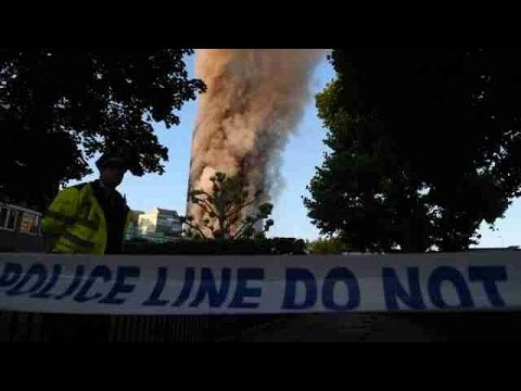 Torre residencial de 27 plantas se incendia en Londres