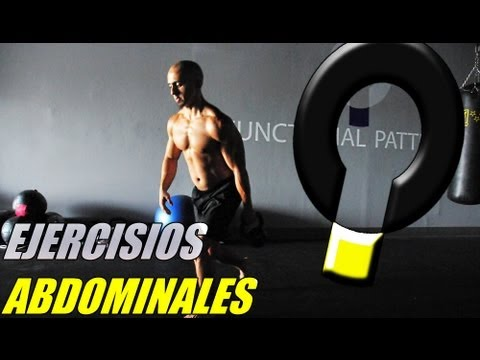 Entrenamiento Funcional- Rutina de ejercicios abdominales