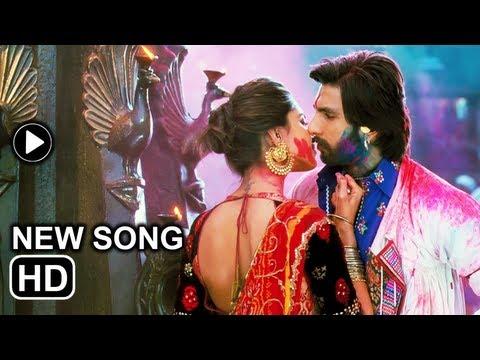 Ram-Leela song Lahu munh lag gaya: Deepika Padukone kisses Ranveer...