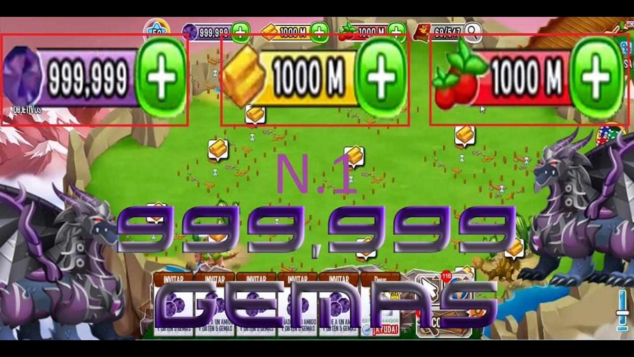 hack de dragon city 999,999,999 oro gemas comida 2014 - YouTube