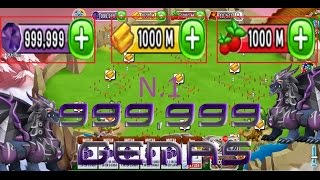 hack de dragon city 999,999,999 oro gemas comida 2016