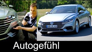 Volkswagen Arteon R-Line FULL REVIEW all-new VW CC successor test neu - Autogefühl