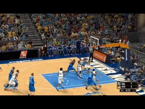 NBA 2K13: Playoffs Semi-finals GM1: Dallas Mavericks vs Denver Nuggets highlights